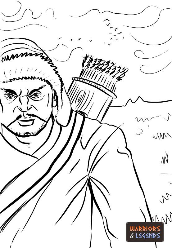 Mongol Warrior Clothing