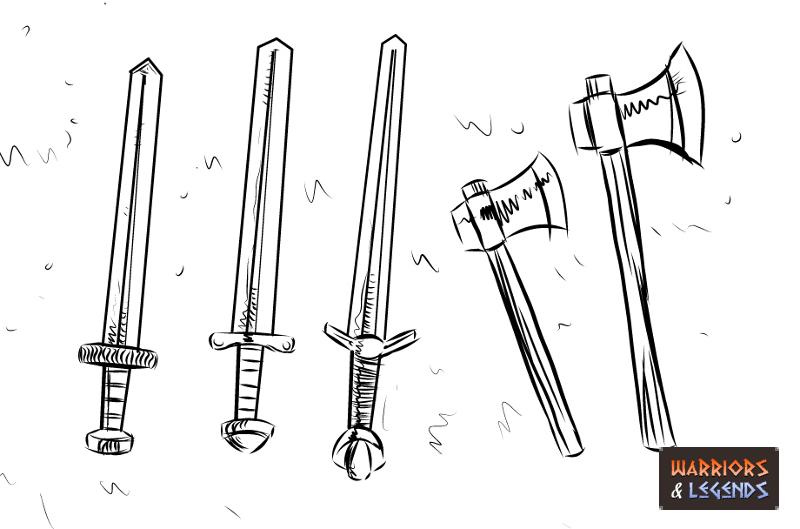 Viking Warrior Weapons