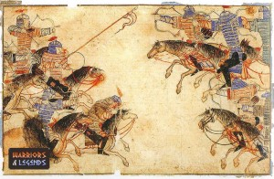 The Mongol Warrior Horses 1