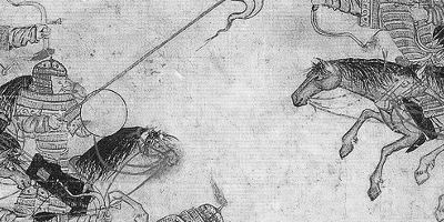 The Mongol Warrior Horses