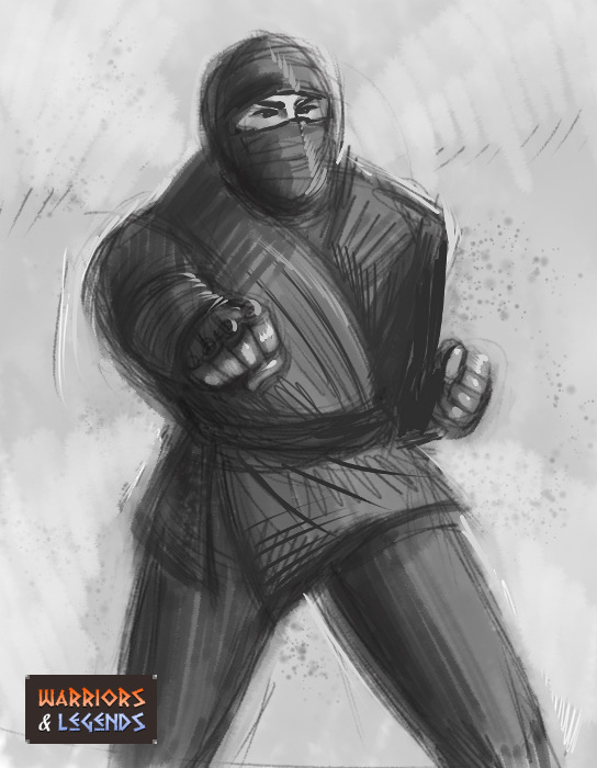 Ninja Warrior Clothing 1