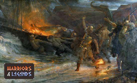 Viking warrior Death and Buriel 1