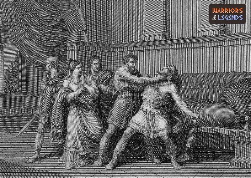 famous gladiators commodus