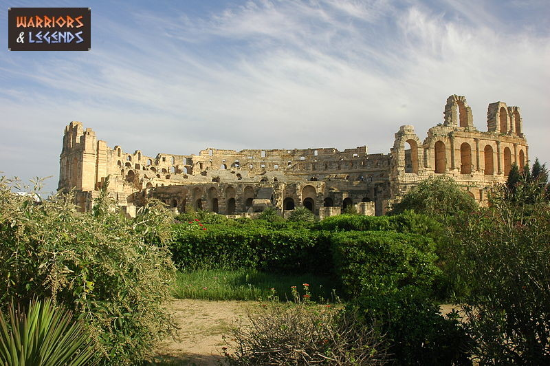 the gladiator amphitheatre el djem