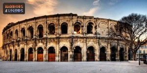 the gladiator amphitheatre nimes