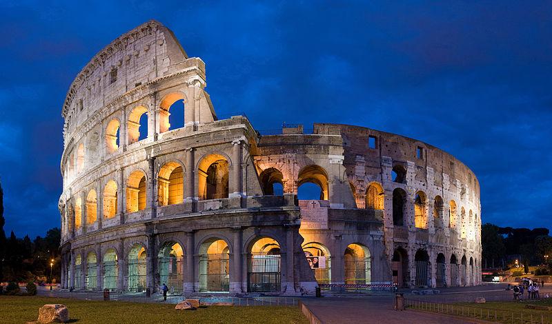 the gladiator amphitheatre the colleseum